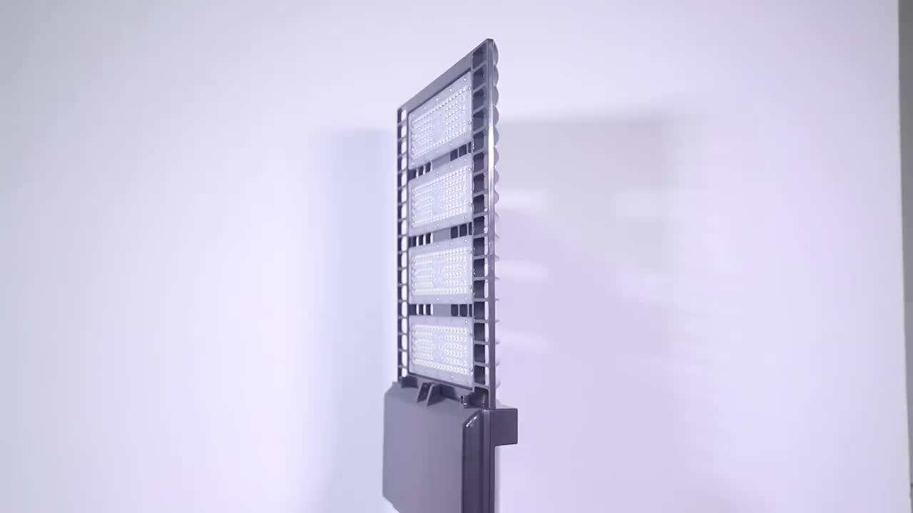 400W MH Replace 150 Watt IP65 dimmable led shoe box lights led street light
