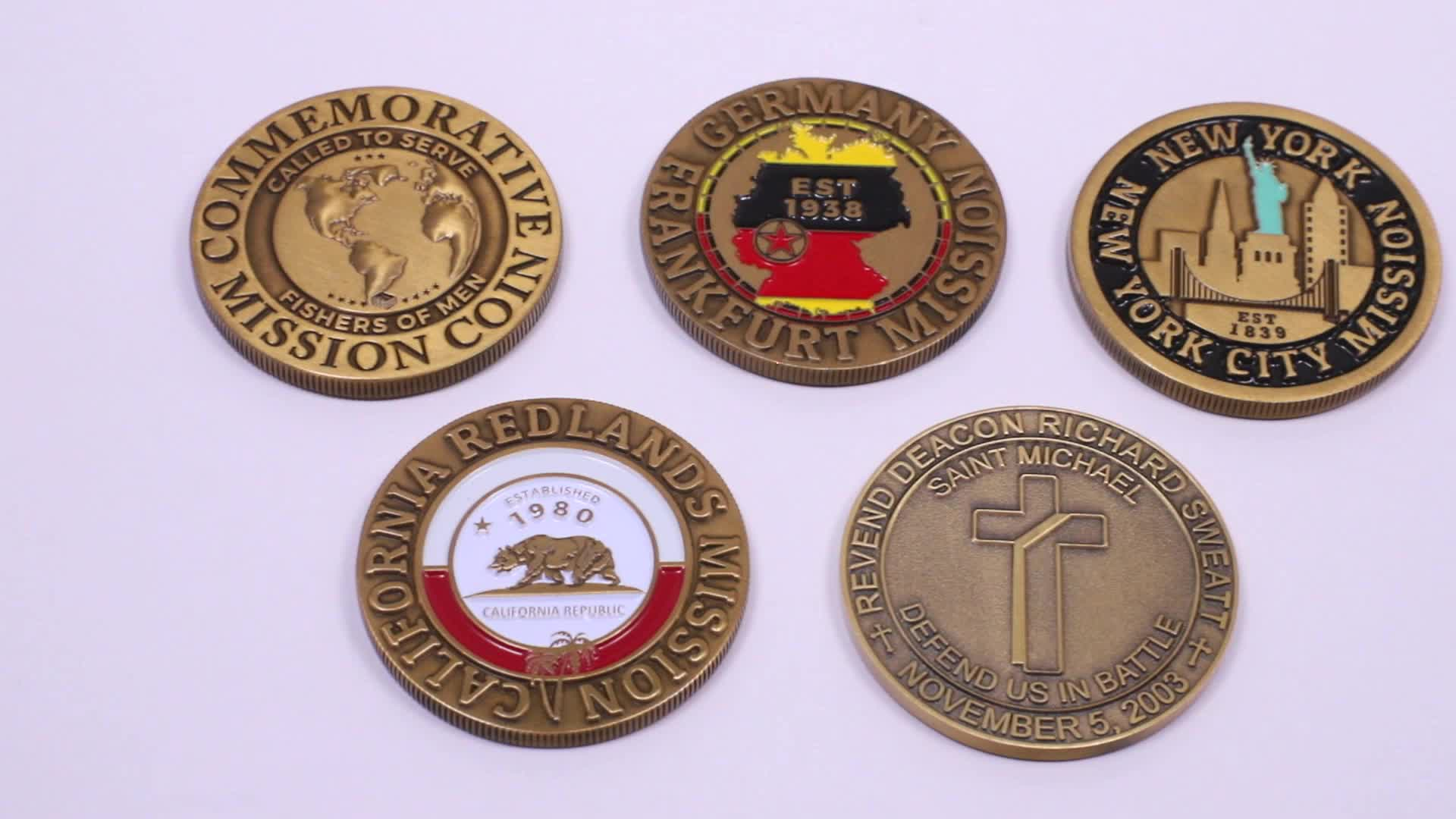 Wholesale Custom Metal Festival Gift Item wholesale challenge coins