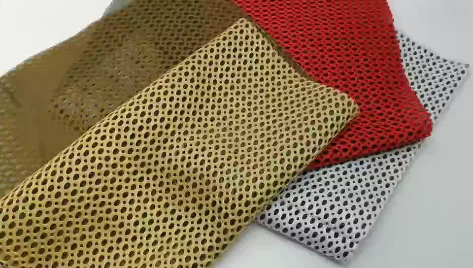 BÜYÜK DELIK PETEK ÖRGÜ 3D hava tabakası kumaş, yatak, yastık, tatami, Formaldehydeless