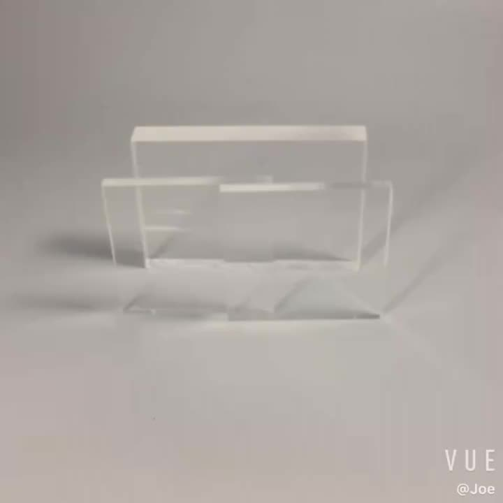 YAGELI 2020 hot sale high quality 100% new material casting customized design  4mm acrylic sheet for display