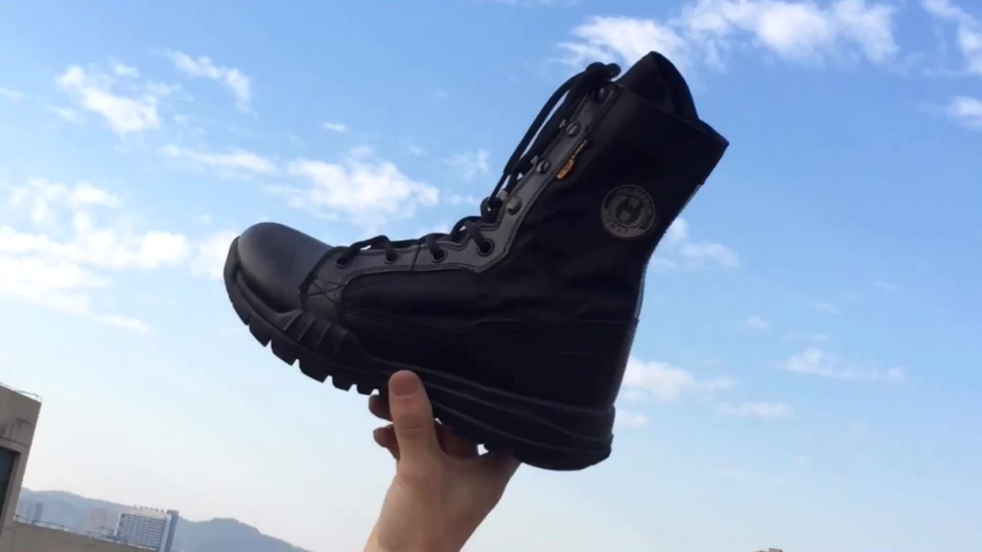 CUSTOMIZED Delta Tactical Boots Patrol Boots Combat MIlitary Boots Men with Side zipper