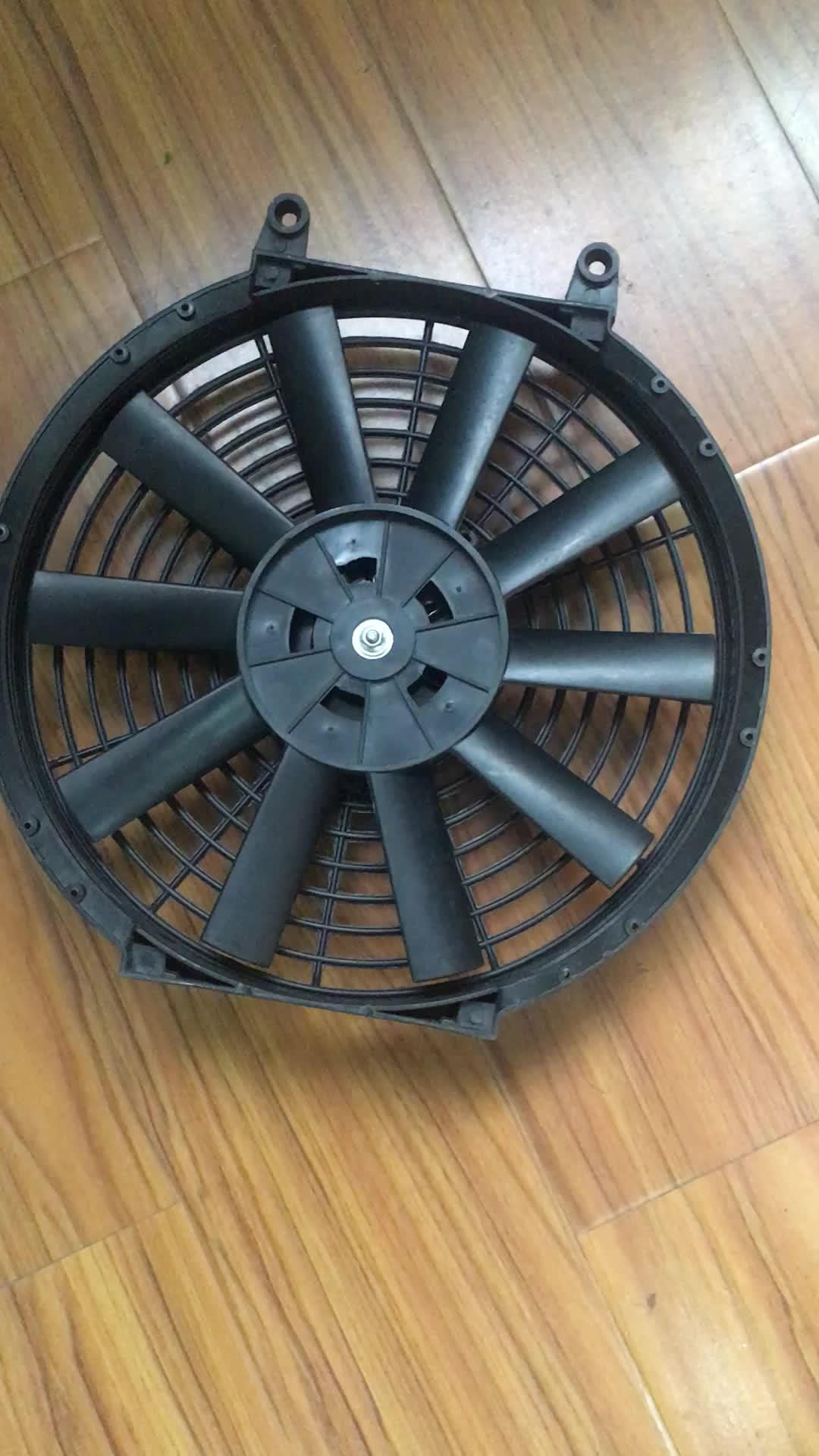 12 Volt Car Fan Straight Curve Electric Universal Fan For