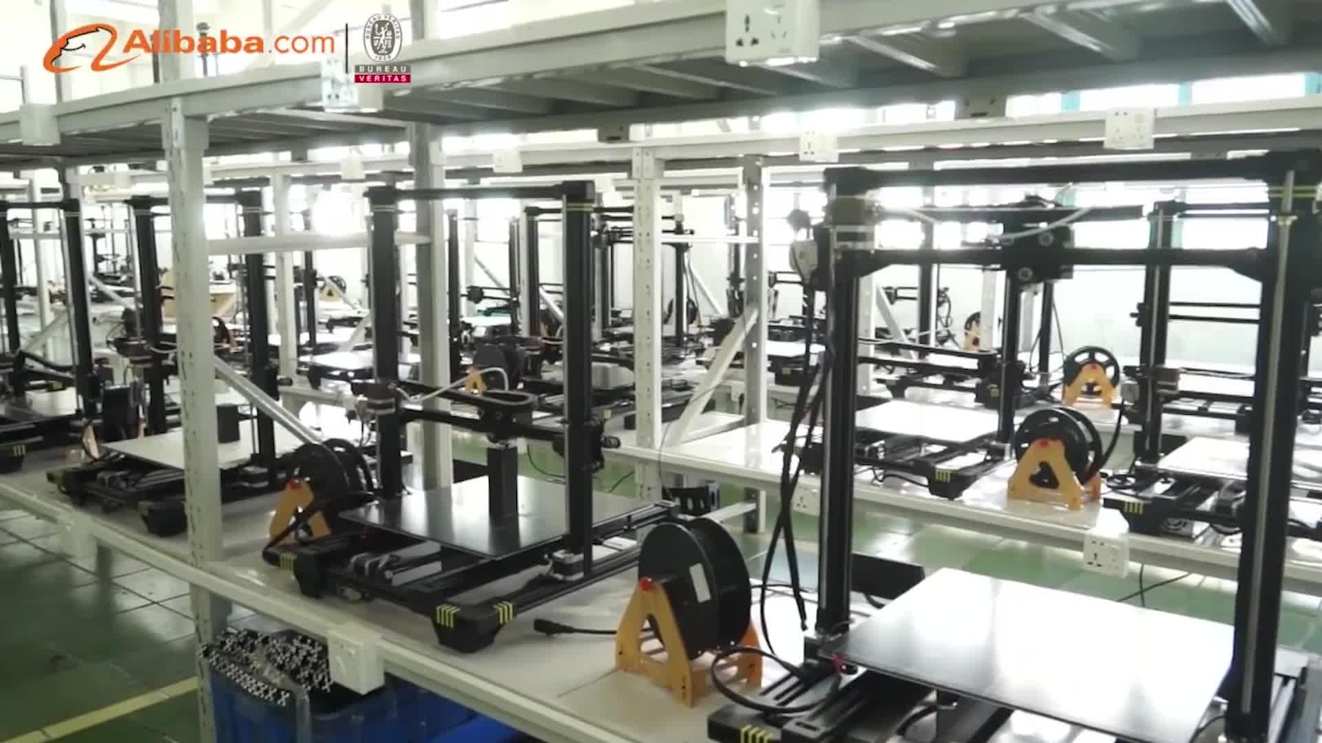 Anycubic Méga S mise à jour version Tout en métal Cadre 3 D impresora Bureau Meilleur 3D imprimante