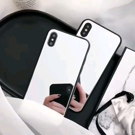 Cell Phone Case design Beauty Smartphone Mirror phone case waterproof luxury for iphone X case phone accessories mobile cover