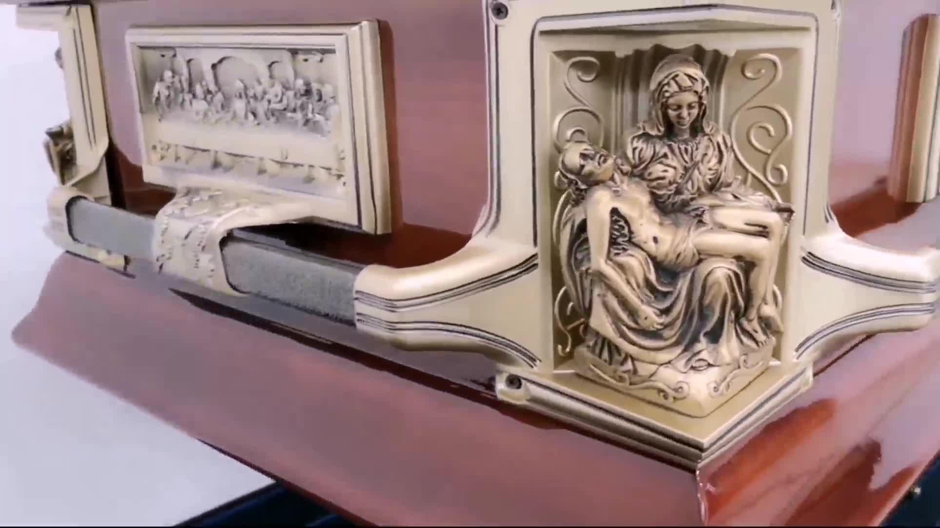 American style ANA 20 ga steel infant child baby casket