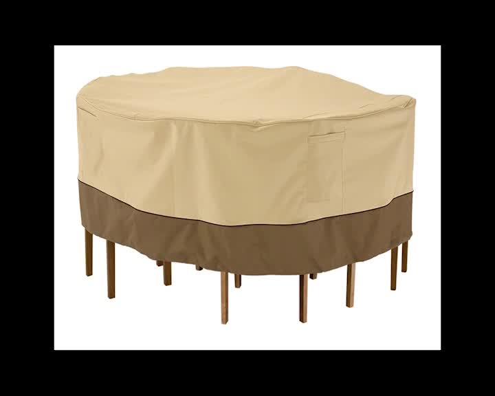 Outdoor Waterproof Dining Table Cover