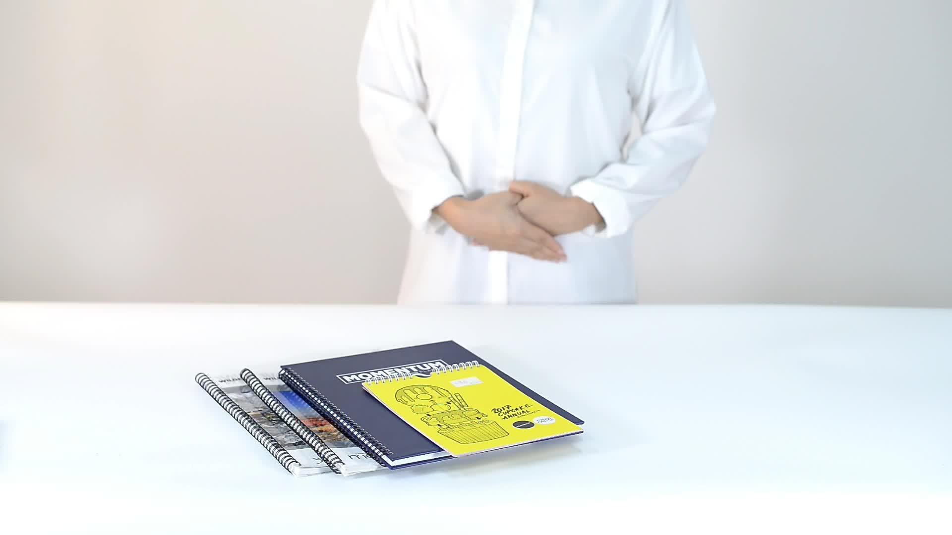 Factory Custom Design Printing YO Coloring English Story Book Brochure Notebook