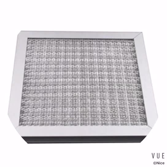 Factory manufacturing Aluminum filter grille hvac filter
