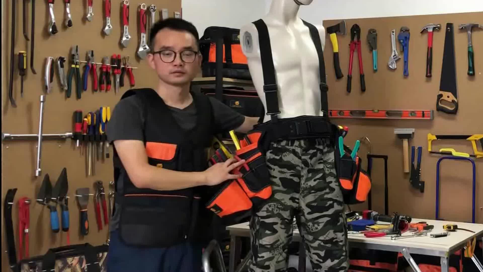 Polyester çok amaçlı OEM/ODM elektrik bel aracı kiti kemer çantası