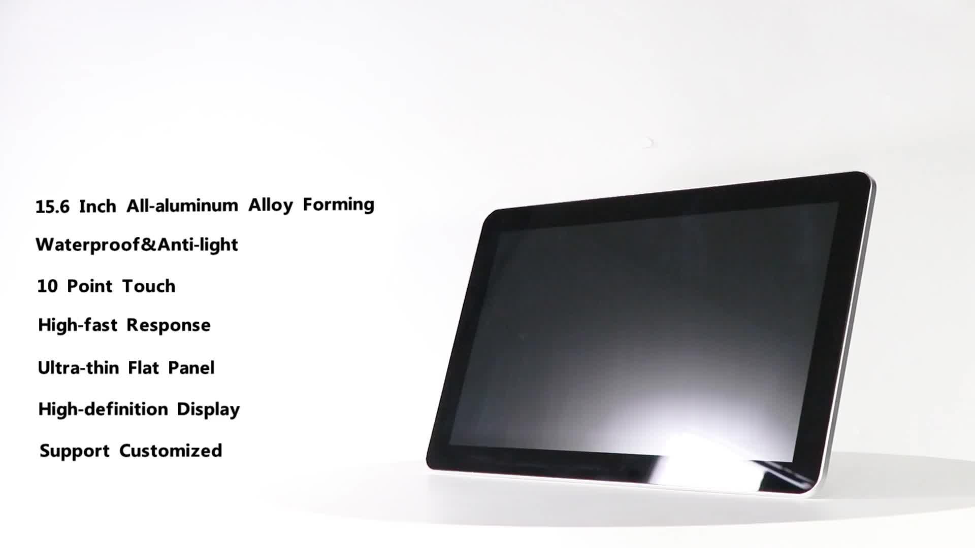 """15.6 """"工場供給 x86 シングルボードコンピュータ ip65 ip68 タブレット pc のベアボーン i5 ミニコンピュータ"""