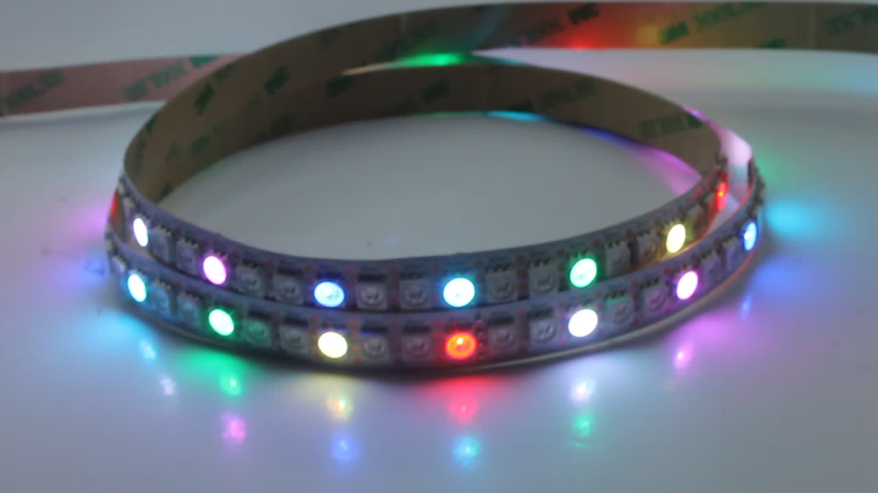 zig zag bendable smd5050 led strip light RGB with UL & CE approved