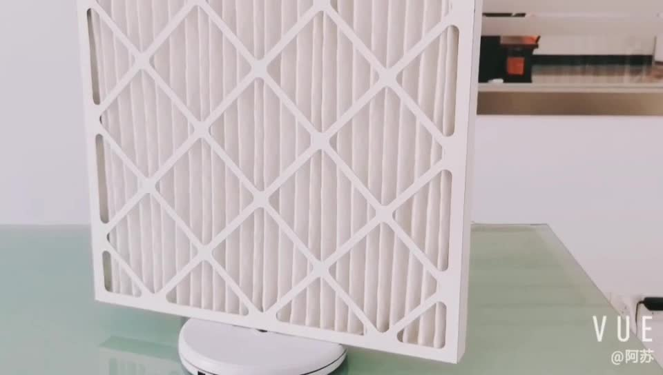 16x25x1 MERV 11 Pleated AC 노 Air Filter