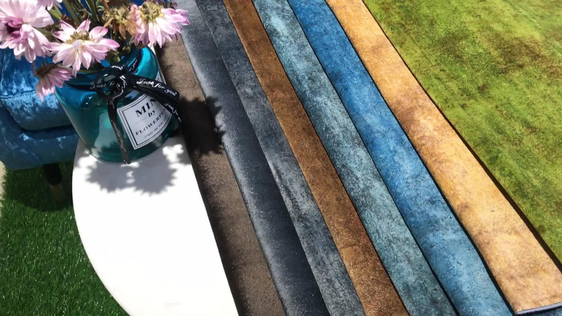 Textiles upjolstery fabric velvet high quality holland 100% polyester waterproof velvet sofa fabric textile