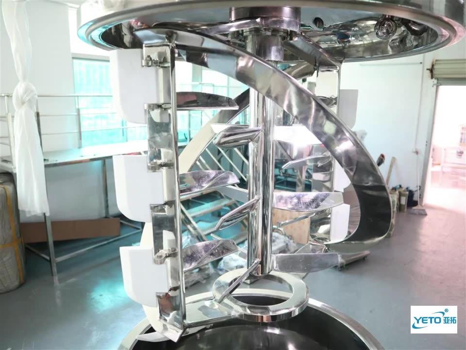 YVM-200L homogenizing vacuum emulsifying blender mixer machine for cosmetic lotion producing
