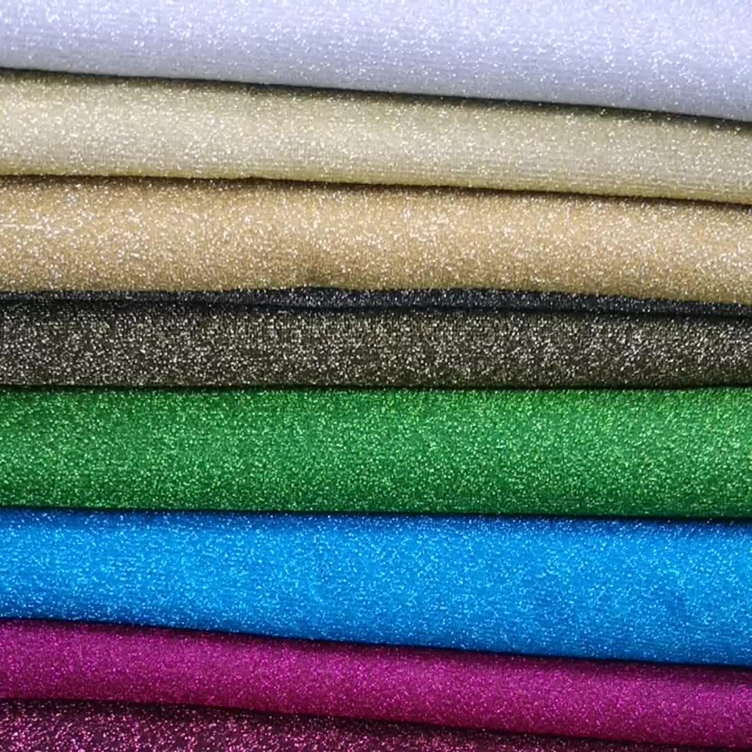 पॉलिएस्टर lurex अमेरिका jijimi चमकदार धातु lurex कपड़े परिधान के लिए घर सजावट