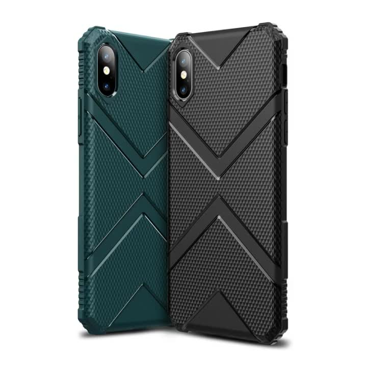 Hard TPU Phone Cover For iPhone 11 Case Exclusive Design Full Protect Anti-drop For Apple iPhone XR Black Cellphone Case