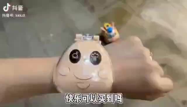 Cartoon Mini Car Toy Radio Controlled Cartoon Pig Car Electric Watch Car with humidifier and Follow Mode Music bubble