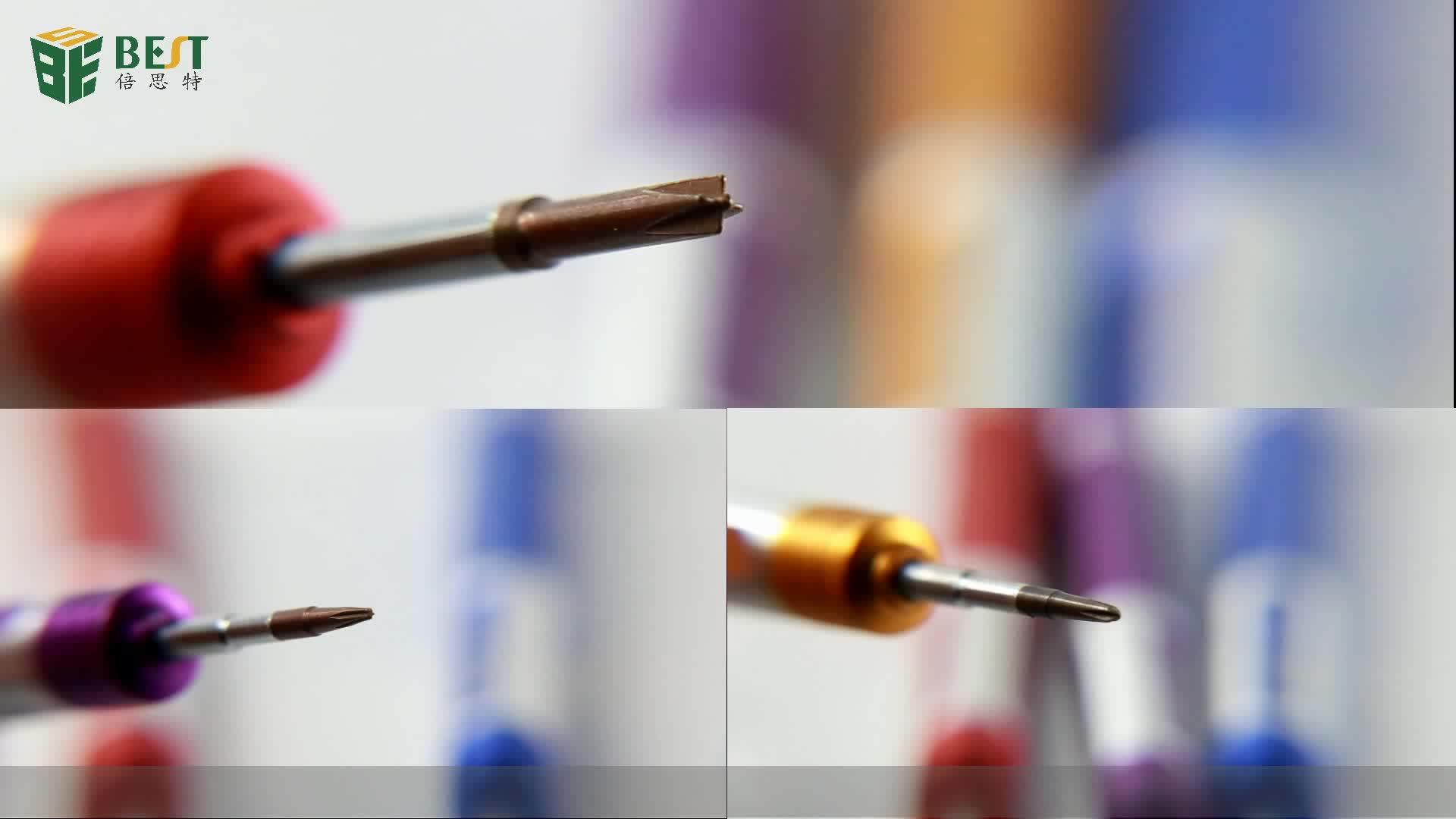 BEST 6666 wholesale Precision Metal Mobile Phone Laptop 2.5mm Screwdriver Repair Tool