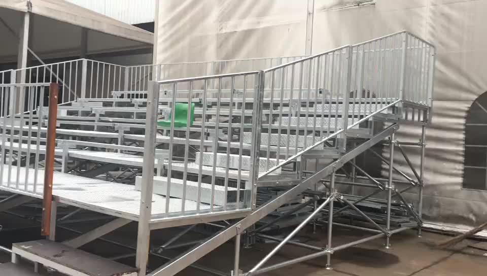 Alumínio andaimes arquibancada arquibancada do estádio