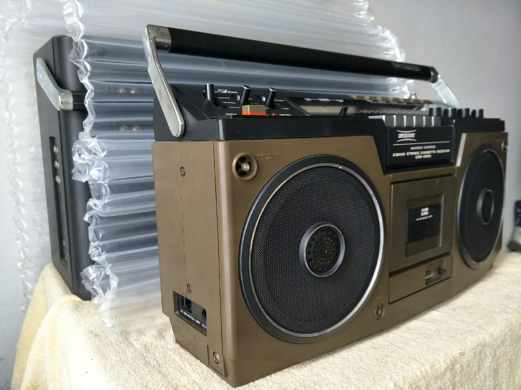 товар из китая 马兰士crs-4000收录机