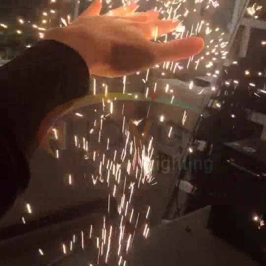 electronic cold spark firework for wedding decoration
