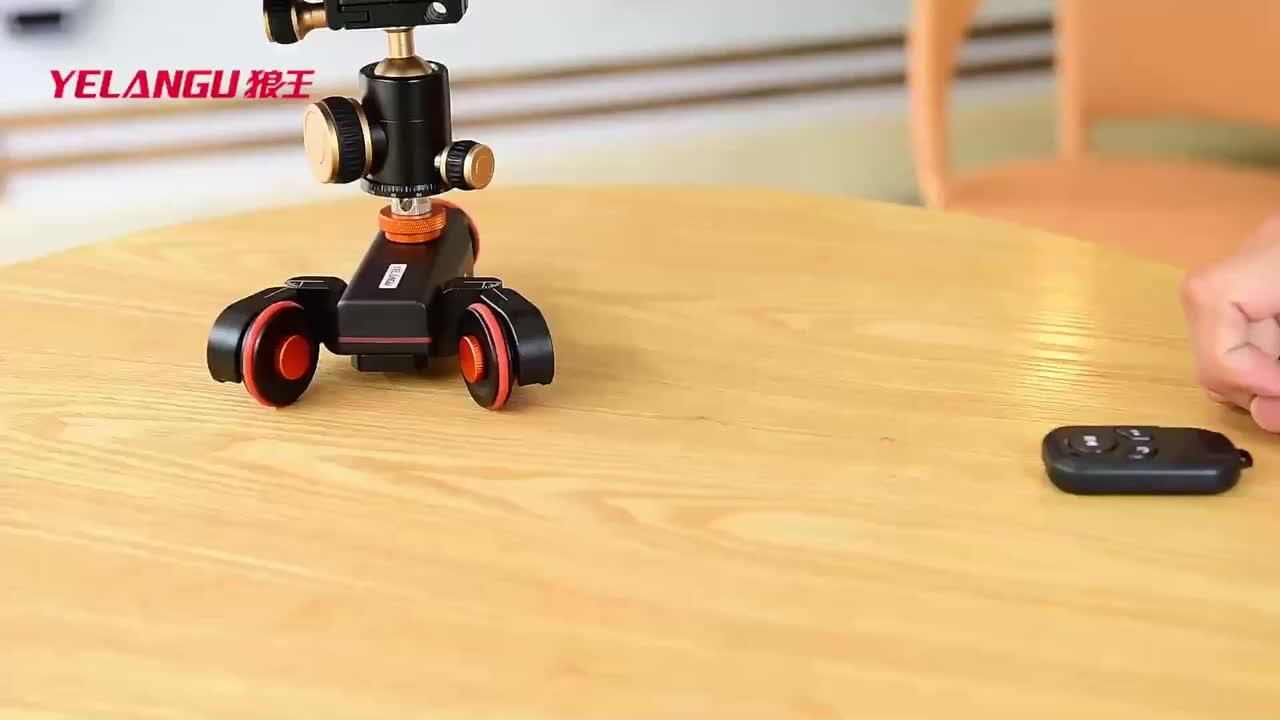 YELANGU Automatic Hard Electric Pocket Track Dolly Camera Motered Slider For Video Camera