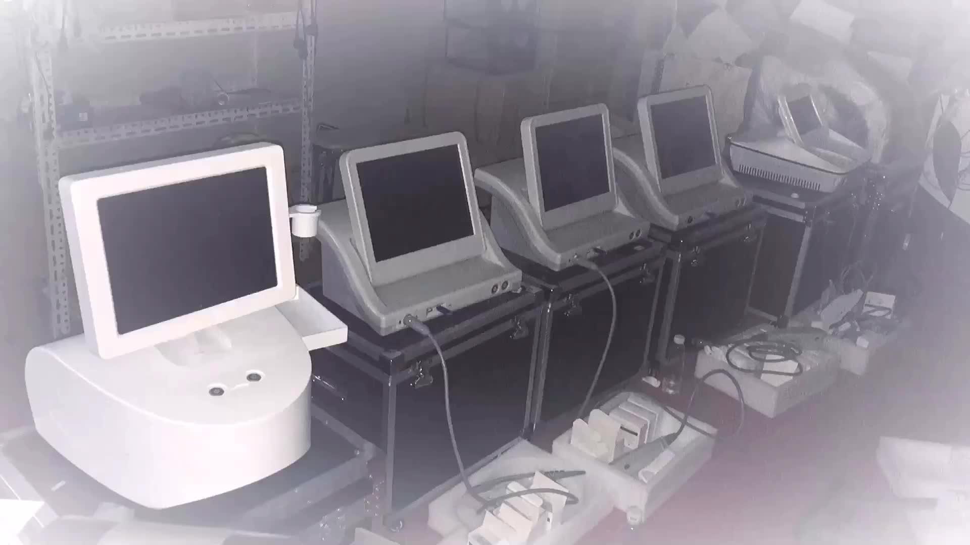 Hifu 高強度集束超音波 hifu 2D 3D HIFU 機ヨーロッパ CE 承認