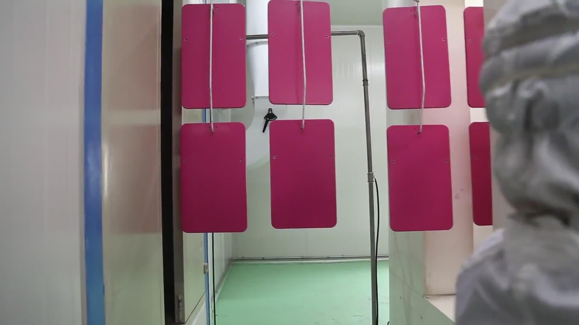 Mdf verniciatura a polvere di colore linea di produzione per mobili da bagno