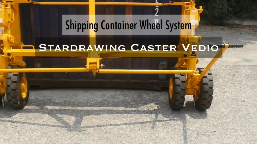 SS ISO Shipping Container Dolly Casters Wheels, View iso container casters,  OEM Acceptable Product Details from Stardrawing International Trading