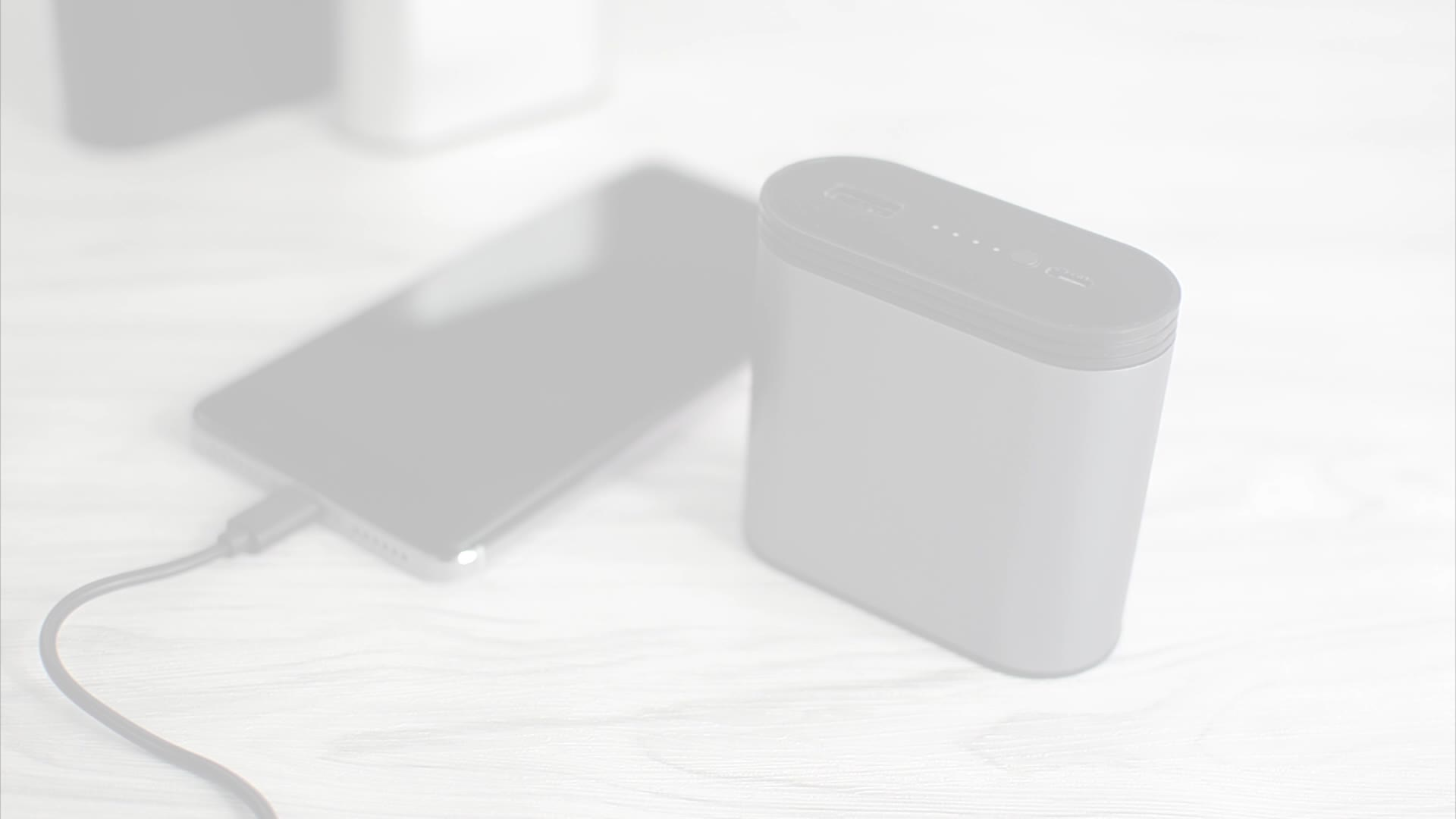 New True Wireless Earphones BT Earbuds with Charging Case Power Bank