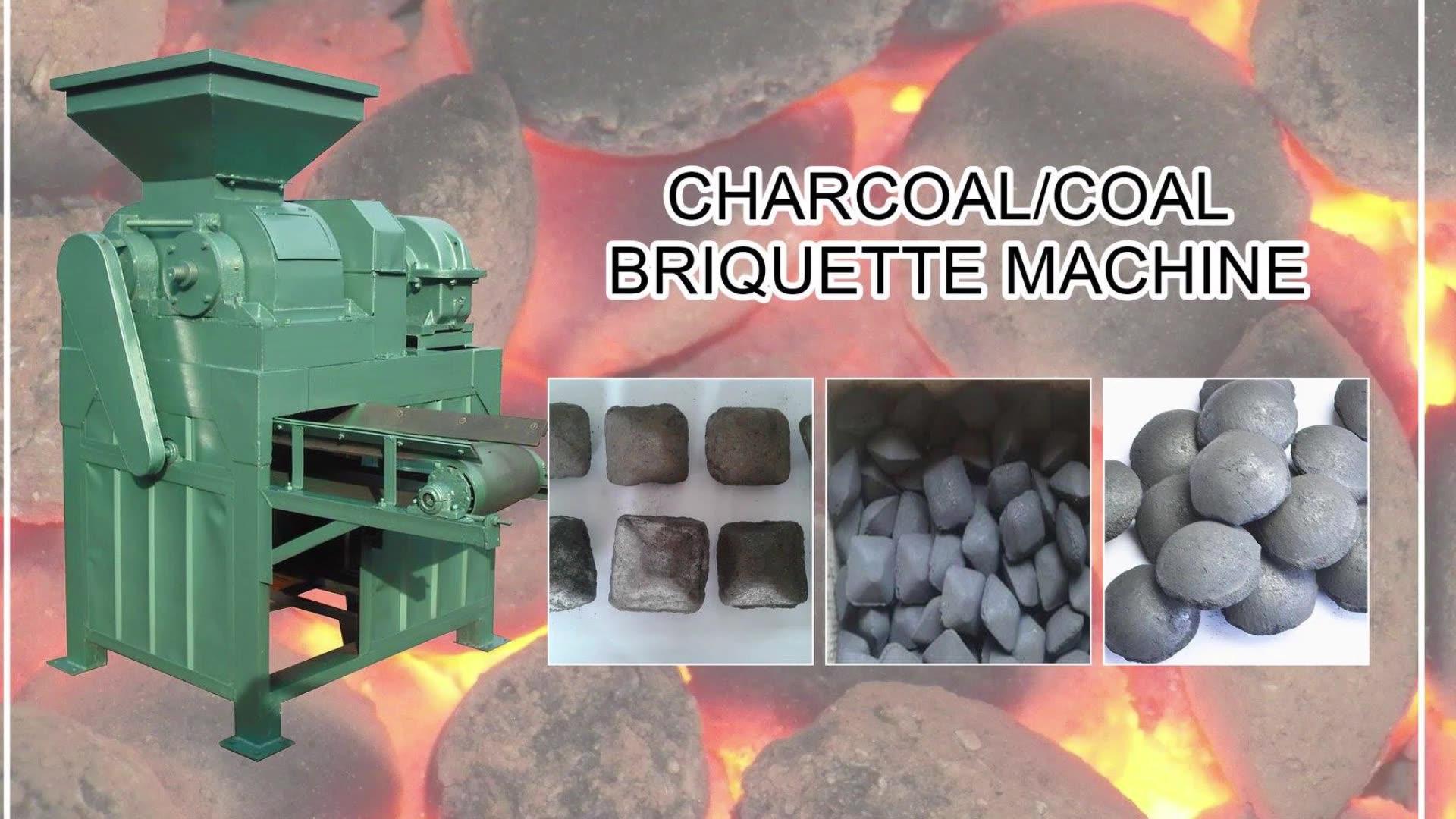 الصين التلقائي دخان البيضاوي الشكل الفحم الكتلة الحيوية ماكينة تصنيع قوالب الفحم الحجري تصنيع