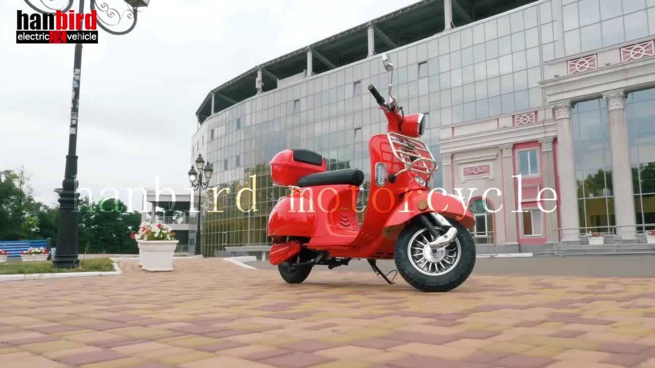 2019 Popular 2 wheel Electric Motorcycle Scooter For Spain