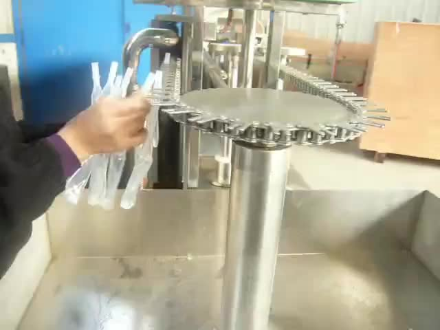Soft bottle ice lolly filling machine ice lolly toy jelly filling sealing machine