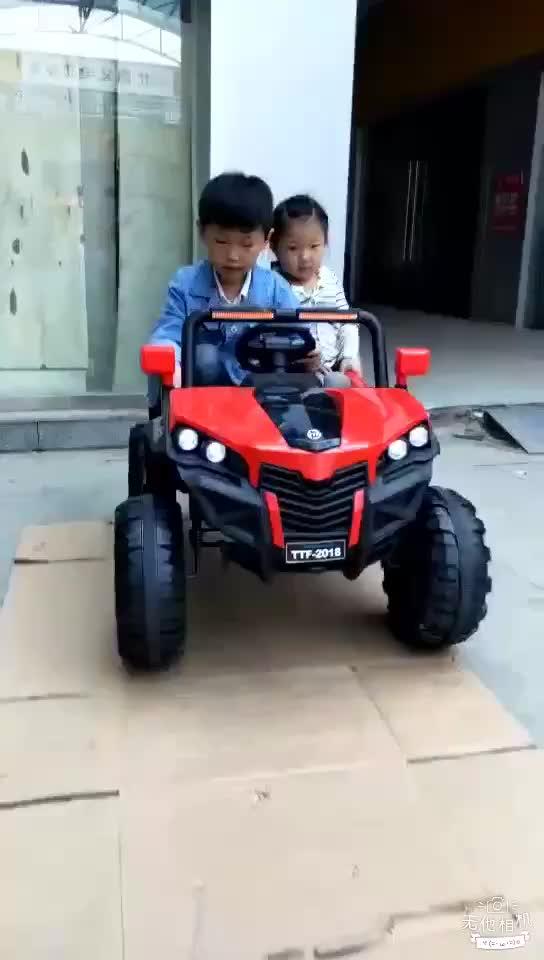2020 neue 12v kinder elektrische auto/baby spielzeug auto große kind auto für kind zu stick/kind fahrt auf auto kinder elektrische mit fernbedienung