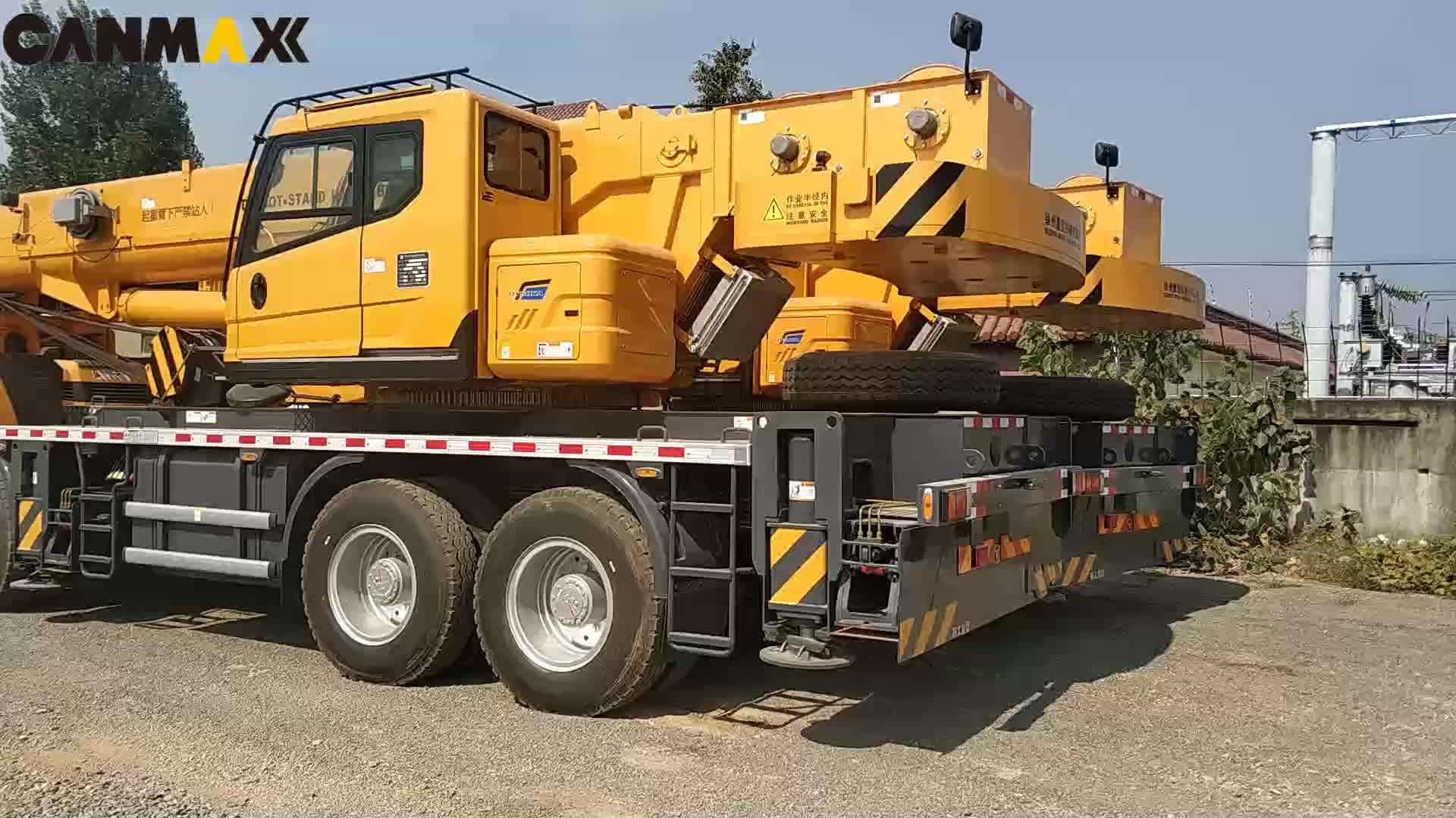 QY50KA thủy lực 57.5 m bùng nổ 50 tấn xe tải di động cần cẩu giá rẻ để bán