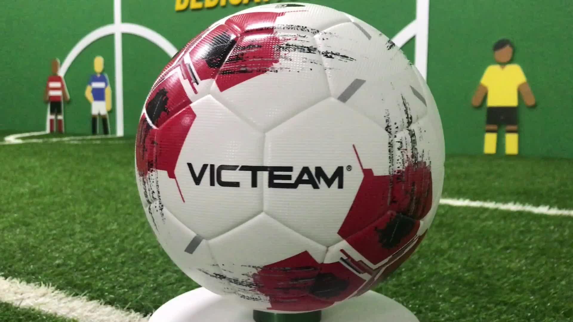 Premium Officiële Maat 5 PU Voetbal Voor de Wedstrijd, Goood Kwaliteit Gelamineerd Voetbal
