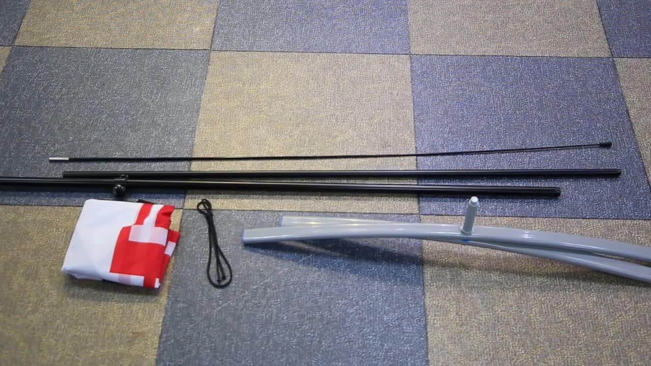 Precio competitivo de Base de inyección de agua de 3 m/5 M/7 m para la bandera y la bandera