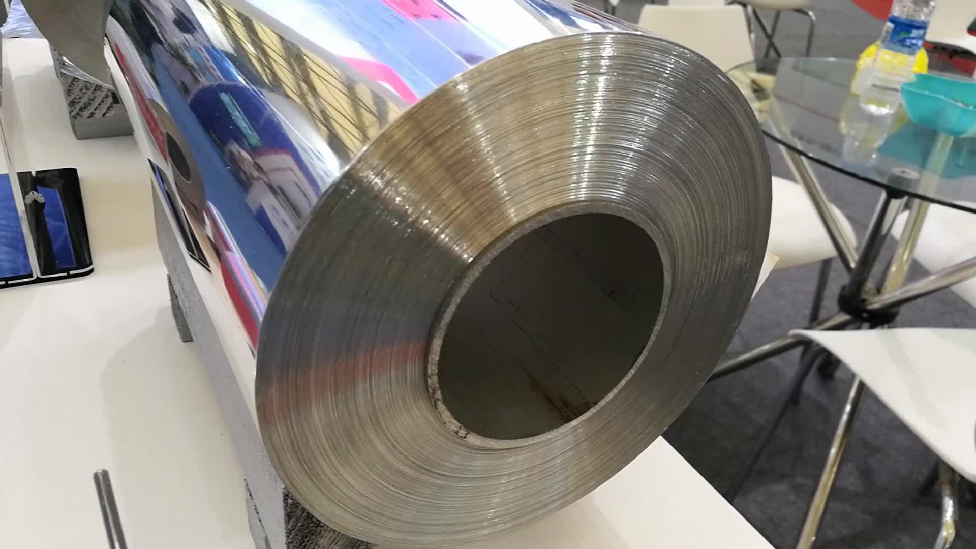 8011 extra breite HHF Haushalts Aluminium Folie für Folie Backen Trays Einweg Folie Tabletts & Deckel