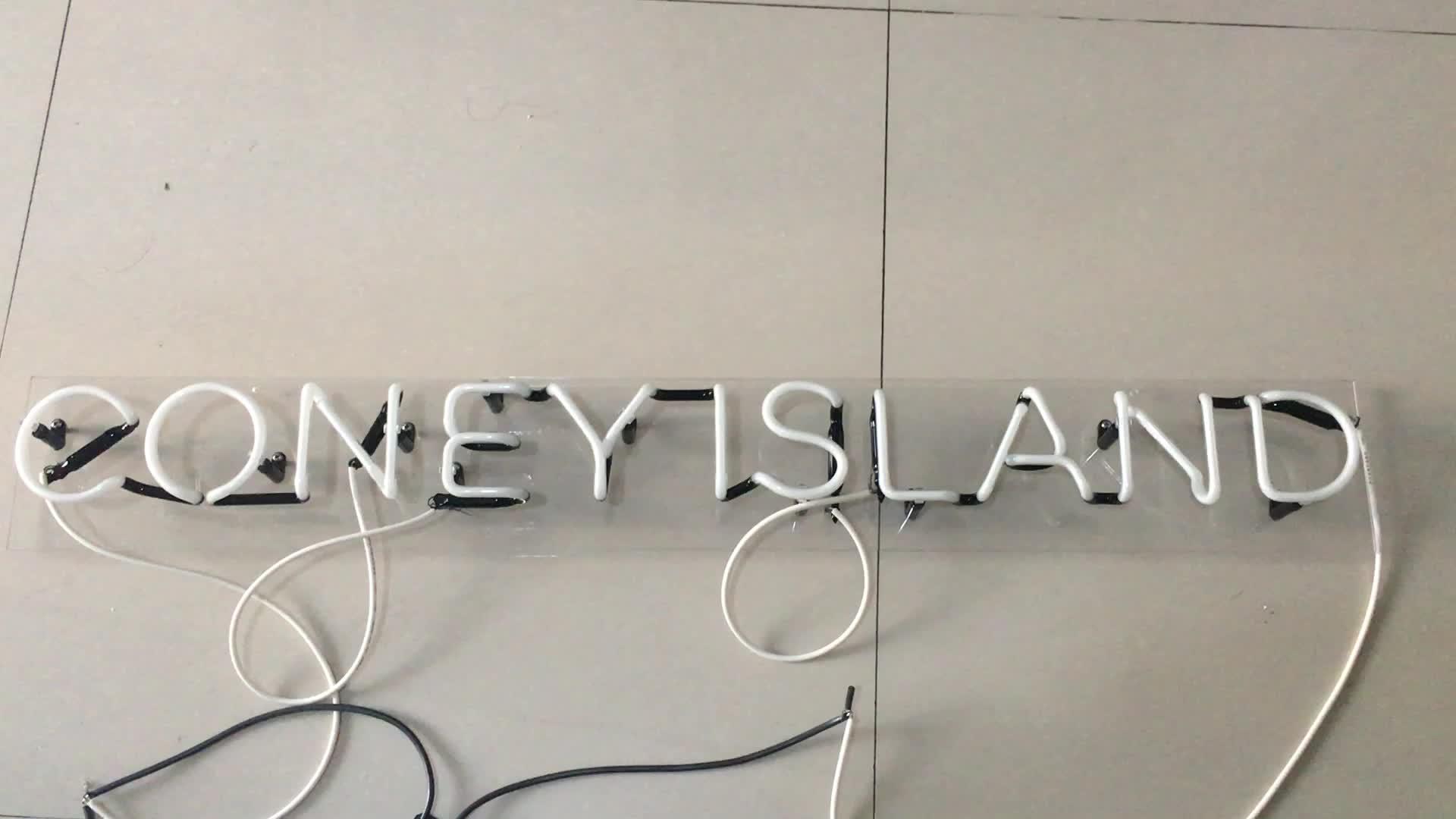 Fabricante personalizado vivid cafe sinal de néon neon letras do sinal para a publicidade decoração