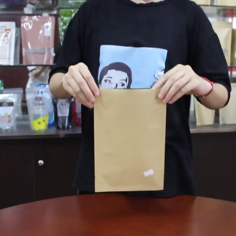 Food Packaging Vacuum Dry Food Kraft Paper Bag
