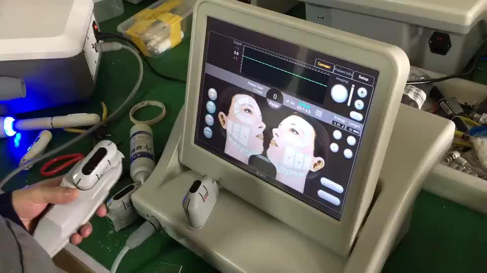 Appareil de levage facial professionnel coréen smas hifu