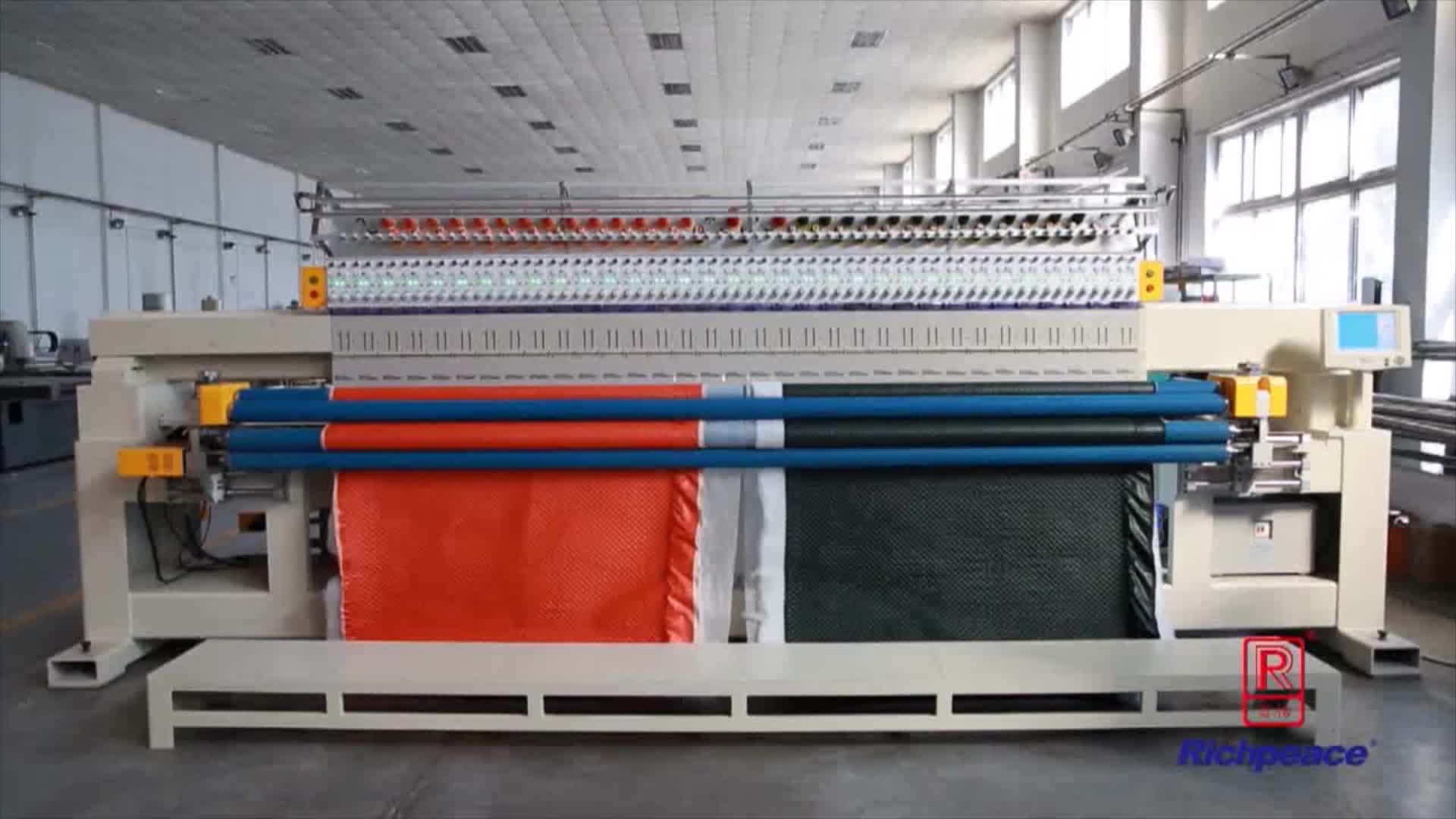 RPQ-E-166-Quilting & Embroidery Machine