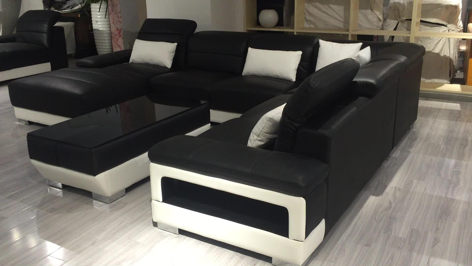 2018 Latest Moroccan Designs Living Room Furniture U Shape