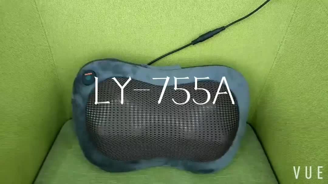 2020 wholesale Infrared ball electronic shiatsu massage car lumbar back neck massage cushion pillow with heating