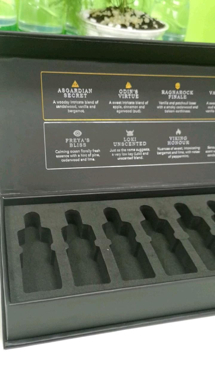 Schwarz hautpflege ätherisches öl magnetische verpackung box