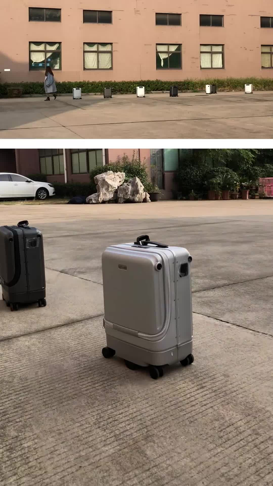 Neue mode-design-PC smart tragen auf gepäck mit folgenden up folgen gepäck folgen koffer