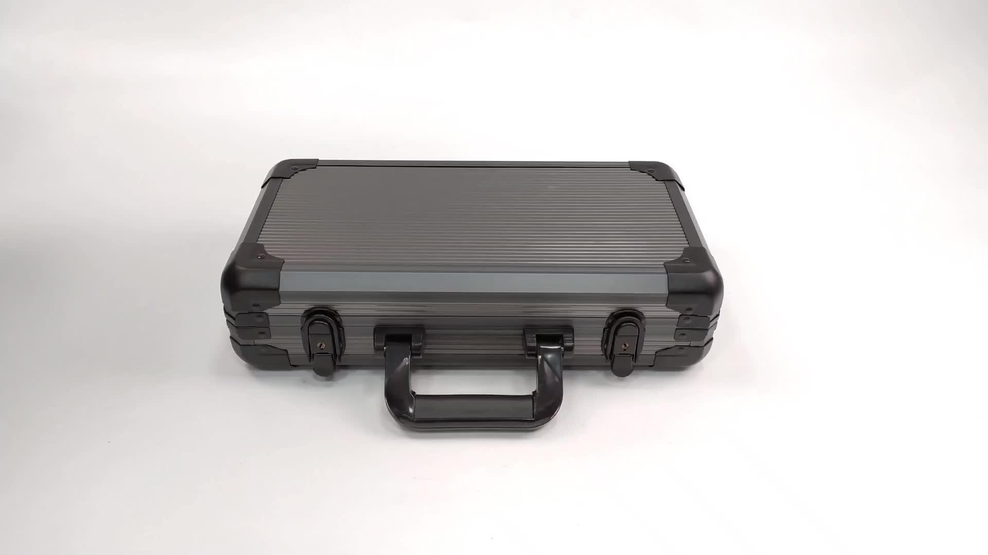Aluminum Poker Chip Case Mahogany Custom Poker Chip Case Manufacturer