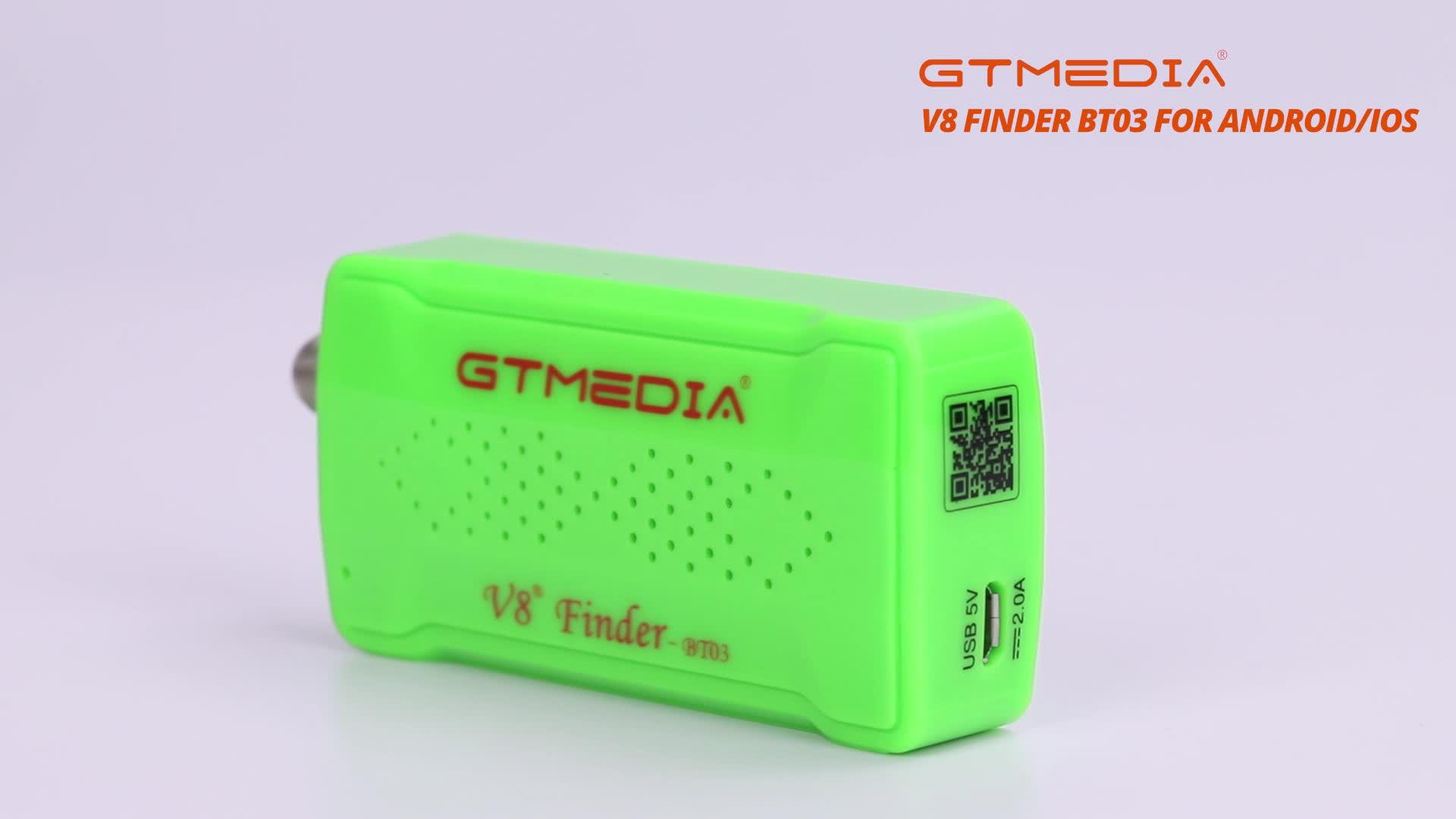 GTMedia V8 Finder BT03 Unterstützung volle Satellite Auswahl Satellite TV Empfänger DVB-S/S2