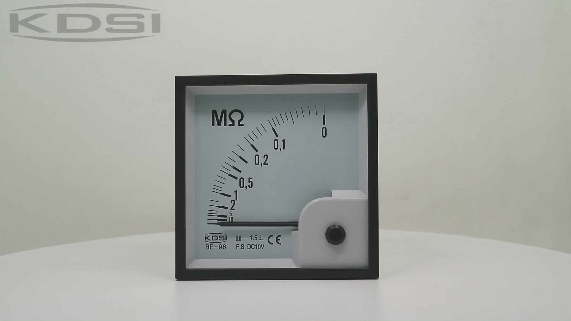 20 years Professional Manufacturer BE-96 DC10V analog dc voltage electric resistance meter