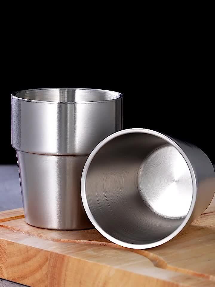 二重壁 SUS 304 ステンレス鋼クマウォーターコーヒーマグカップ